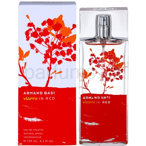 Armand Basi Happy In Red 100 ml toaletní voda