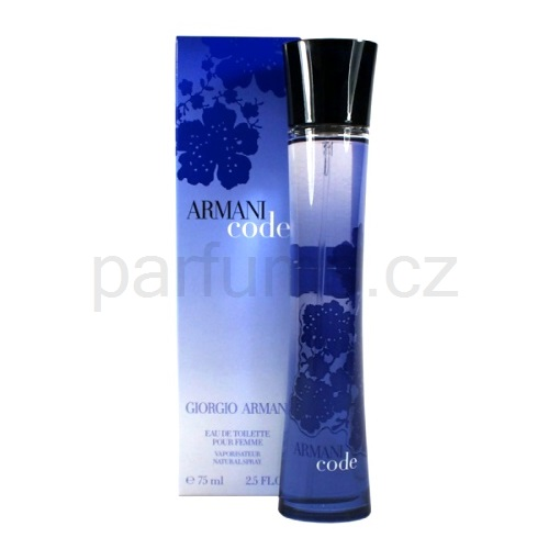 Armani Code Woman 50 ml toaletní voda