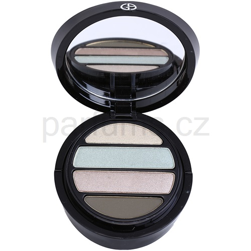 Armani Eyes To Kill Quad oční stíny odstín 3 Pantelleria (4 Color Eyeshadow Palette) 4 g