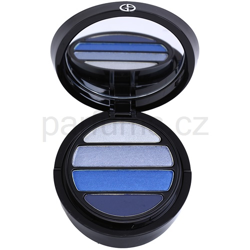 Armani Eyes To Kill Quad oční stíny odstín 5 Mediterranea (4 Color Eyeshadow Palette) 4 g