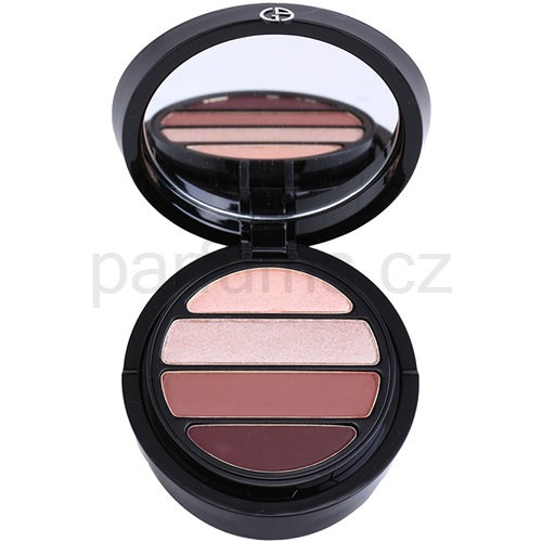 Armani Eyes To Kill Quad oční stíny odstín 6 Boudoir (4 Color Eyeshadow Palette) 4 g