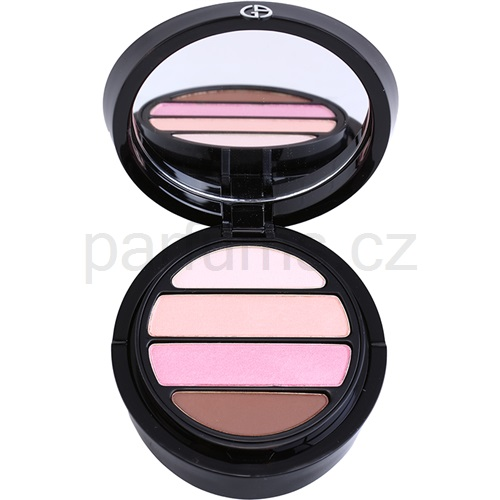 Armani Eyes To Kill Quad oční stíny odstín 7 Blush (4 Color Eyeshadow Palette) 4 g