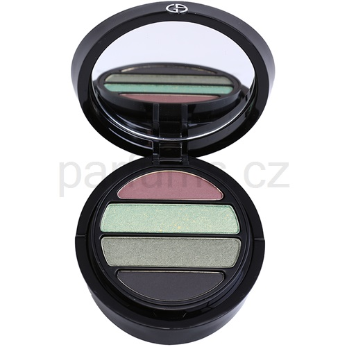 Armani Eyes To Kill Quad oční stíny odstín 9 Medusa (4 Color Eyeshadow Palette) 4 g