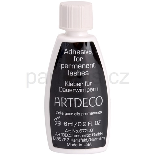 Artdeco False Eyelashes lepidlo na permanentní řasy (Adhesive for permanent eyelashes transparent) 6 ml