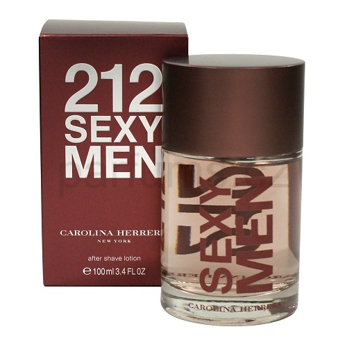 Carolina Herrera 212 Sexy Men 100 ml voda po holení