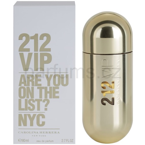 Carolina Herrera 212 VIP 80 ml parfémovaná voda