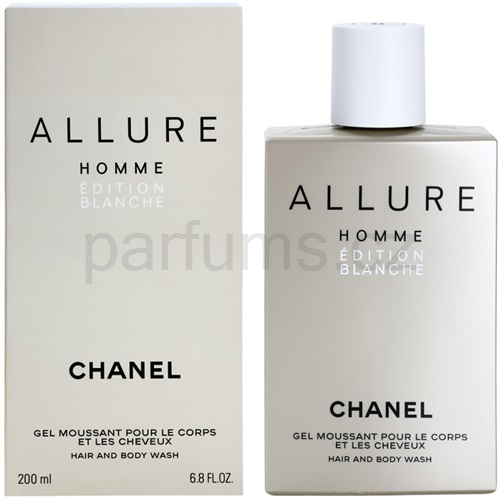 Chanel Allure Homme Édition Blanche 200 ml sprchový gel