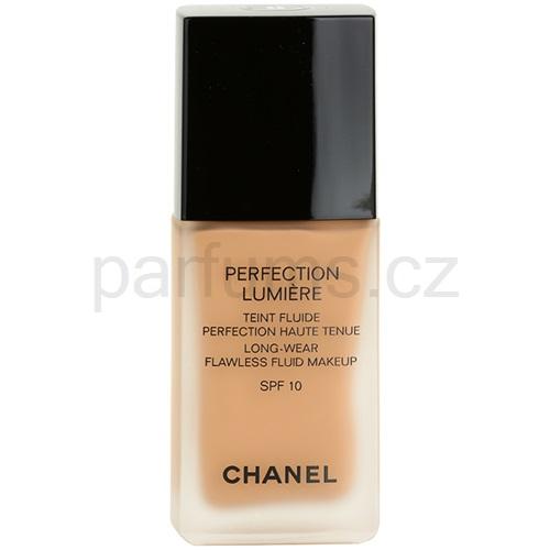 Chanel Perfection Lumiére fluidní make-up pro perfektní vzhled odstín 70 Beige (Long-Wear Flawless Fluid Makeup) 30 ml