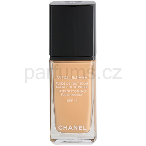 Chanel Vitalumiere tekutý make-up odstín 20 Clair (Satin Smoothing Fluid Make-Up SPF 15) 30 ml