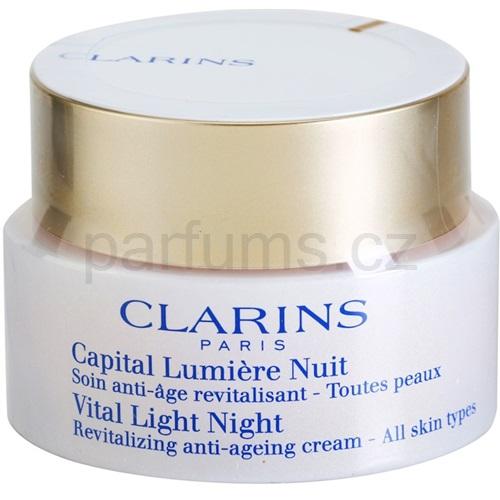 Clarins Vital Light noční revitalizační obnovující krém pro všechny typy pleti (Vital Light Night Revitalizing Anti-Ageing Cream for All Skin Types) 5