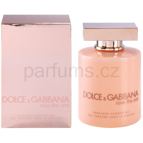 Dolce & Gabbana Rose The One 200 ml sprchový gel