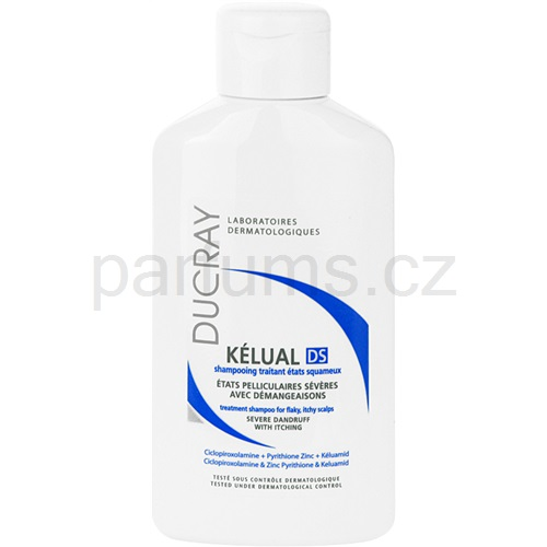 Ducray Kelual DS šampon proti lupům (Shampoo Severe Dandruff With Itching) 100 ml