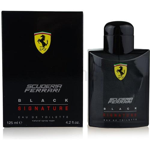 Ferrari Scuderia Ferrari Black Signature 125 ml toaletní voda