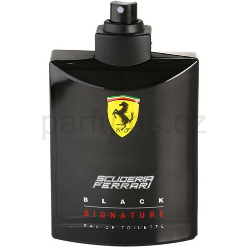 Ferrari Scuderia Ferrari Black Signature tester 125 ml toaletní voda