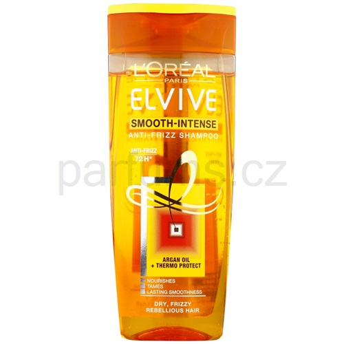 L'Oréal Paris Elvive Smooth-Intense šampon proti krepatění (Anti-Frizz Shampoo) 250 ml