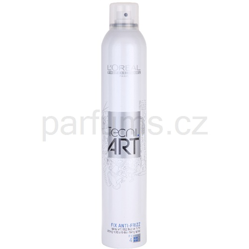 L'Oréal Professionnel Tecni Art Fix fixační sprej proti krepatění (Fix Anti-Frizz Spray Force 4) 400 ml