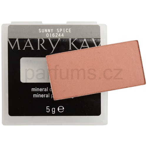 Mary Kay Mineral Cheek Colour tvářenka odstín Sunny Spice (Blush) 5 g