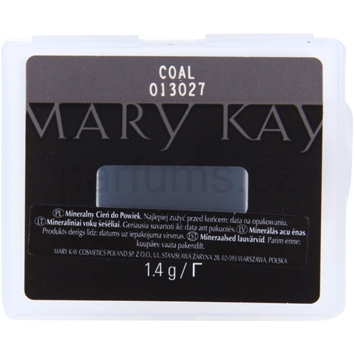 Mary Kay Mineral Eye Colour oční stíny odstín Coal (Mineral Eye Colour) 1,4 g