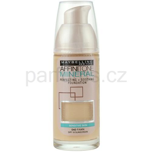 Maybelline Affinitone Mineral tekutý make-up odstín 40 Fawn 30 ml