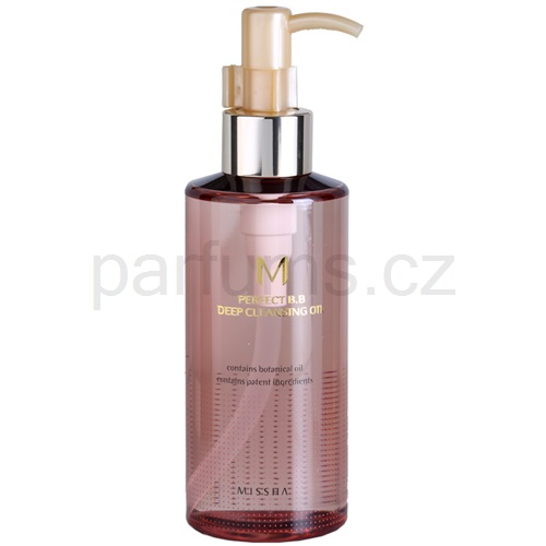 Missha M Perfect Cover hloubkově čisticí olej (Deep Cleansing Oil With Pump) 200 ml