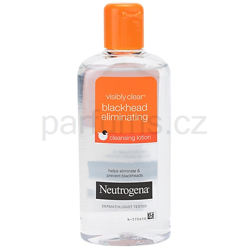Neutrogena Visibly Clear Blackhead Eliminating pleťová voda proti černým tečkám (Cleansing Lotion) 200 ml