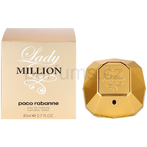 Paco Rabanne Lady Million 80 ml parfémovaná voda