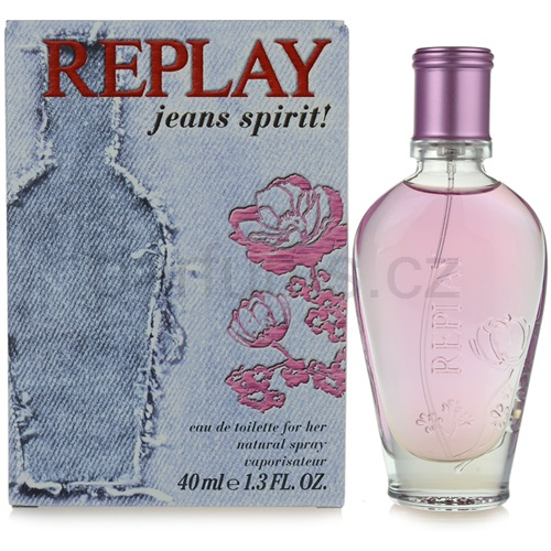 Replay Jeans Spirit! For Her 40 ml toaletní voda