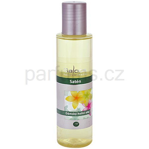 Saloos Shower Oil dámský holicí olej satén (Women's Shaving Oil - Satin) 125 ml