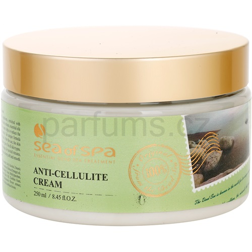 Sea of Spa Essential Dead Sea Treatment krém proti celulitidě s minerály z Mrtvého moře (Anti - Cellulite Cream) 250 ml