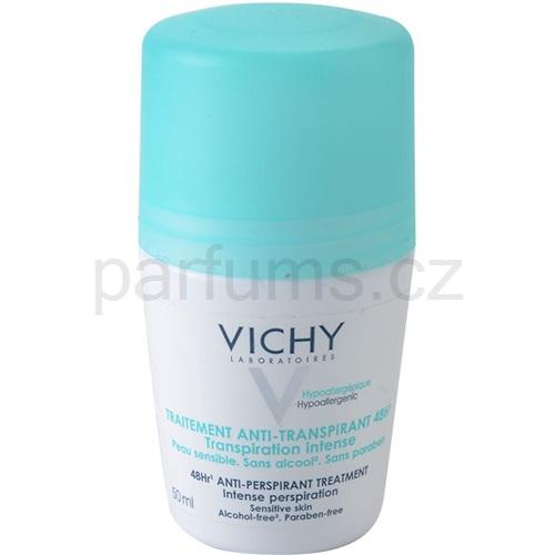 Vichy Deodorant kuličkový deodorant roll-on proti nadměrnému pocení 48h (Anti-Perspirant Treatment) 50 ml