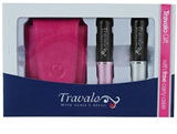 Travalo Refill Atomizer Pure Excel dárková sada II. (Silver and Pink)