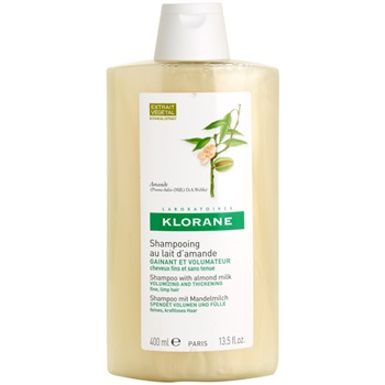 Klorane Amande šampon pro objem (Shampoo with almond milk) 400 ml