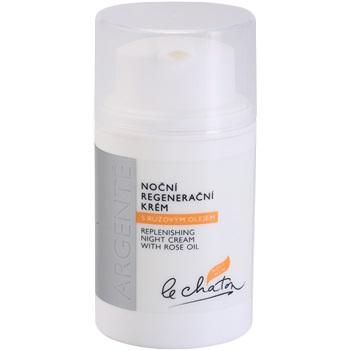 Le Chaton Argenté noční regenerační krém s růžovým olejem (Replenishing Night Cream With Rose Oil) 50 g
