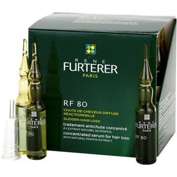 Fotografie Rene Furterer RF 80 sérum proti padání vlasů (Concentrated Serum For Hair Loss) 24 x 5 ml