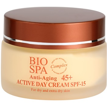 Sea of Spa Bio Spa aktivní denní krém 45+ SPF 15 (Active Day Cream For Dry and Extra Dry Skin) 50 ml