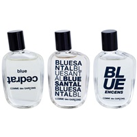 Comme Des Garcons Miniatures Collection dárková sada II. Blue Encens 9 ml + Blue Cedrat 9 ml + Blue Santal 9 ml