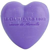 Le Chatelard 1802 Lavender mýdlo ve tvaru srdce